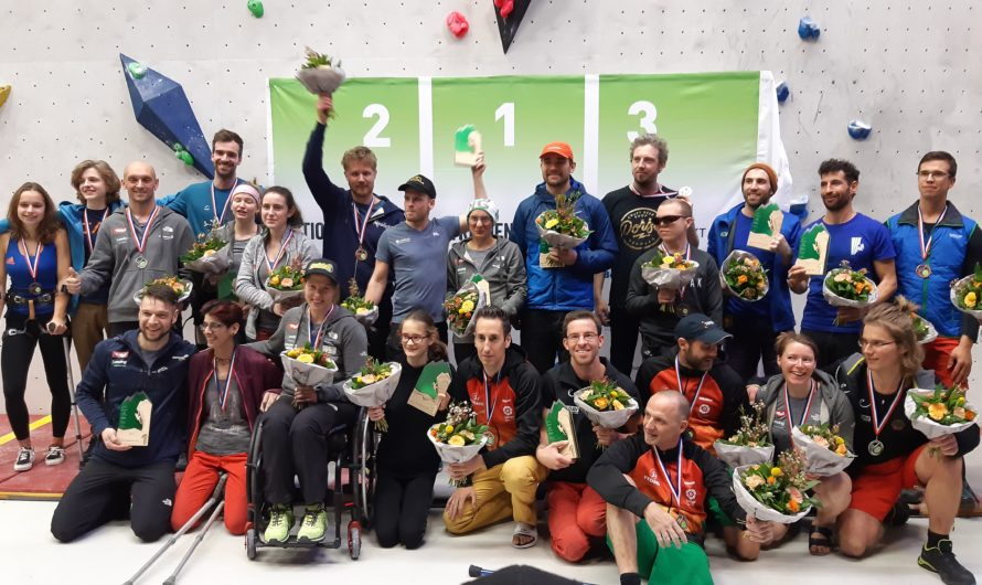 Dutch Open Paraclimbing Competition Sittard 2019