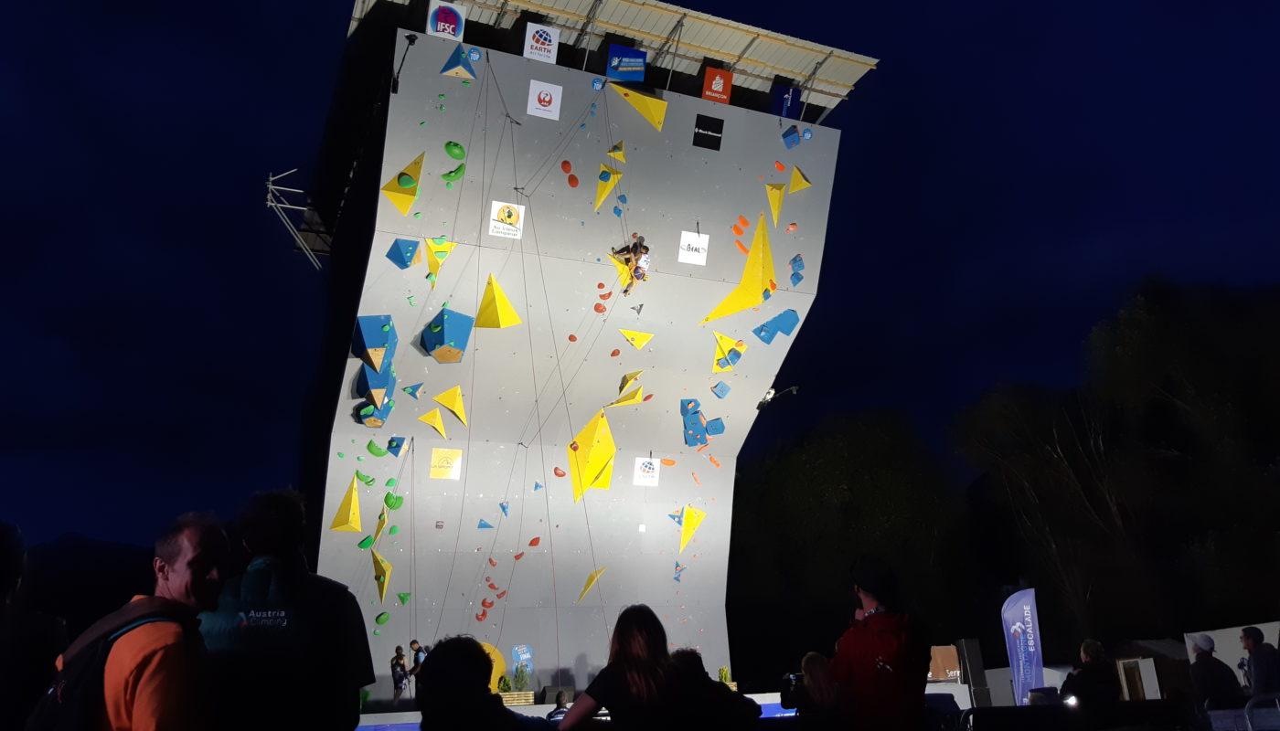 Briancon Paraclimbing finals 2019