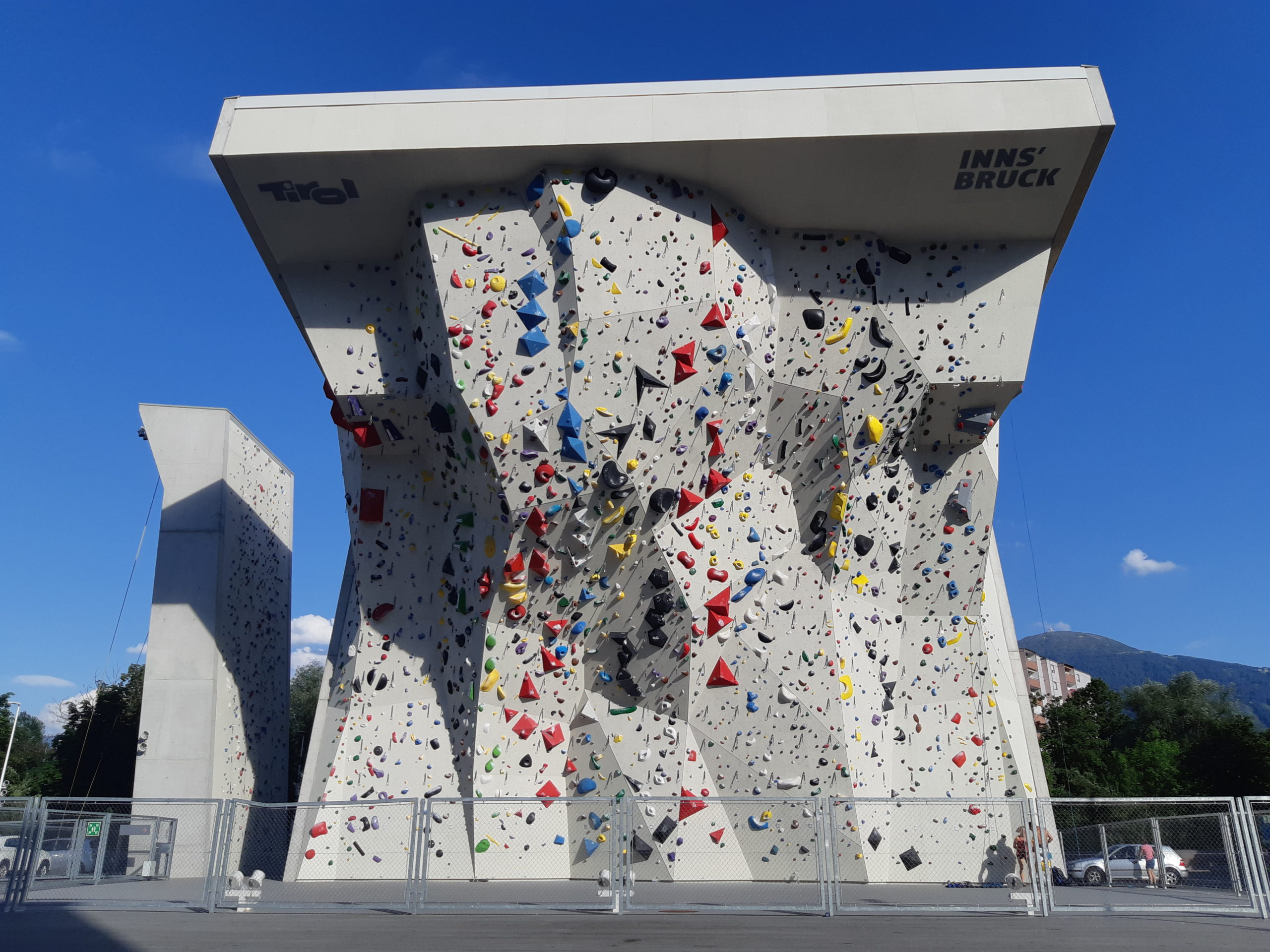Innsbruck competition wall