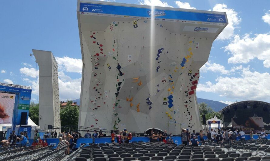 Innsbruck Paraclimbing World Cup 2021