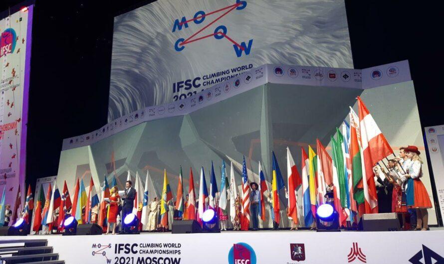 Moscow Paraclimbing World Championships 2021